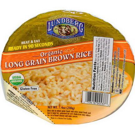 Lundberg, Organic, Long Grain Brown Rice 210g