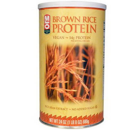 MLO Natural, Brown Rice Protein Powder 680g