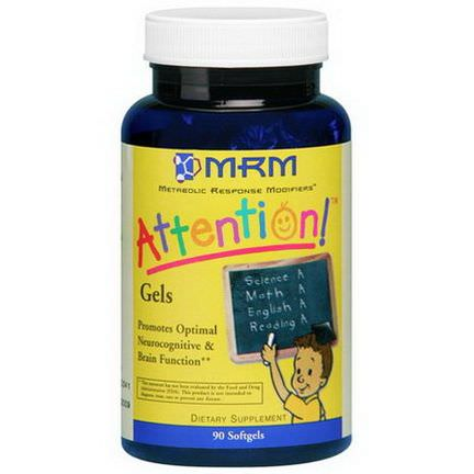 MRM, Attention! Gels, 90 Softgels
