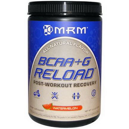 MRM, BCAA G Reload, Post-Workout Recovery, Watermelon 330g