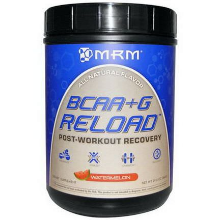 MRM, BCAA G Reload, Post-Workout Recovery, Watermelon 840g