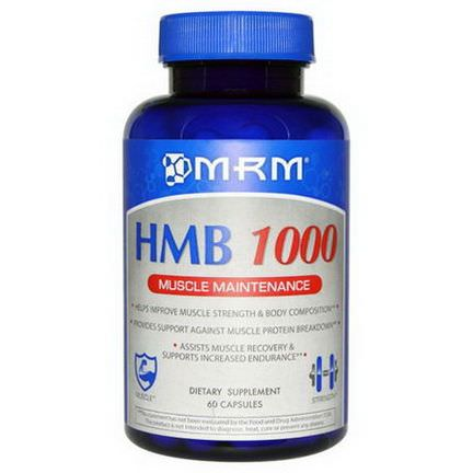 MRM, HMB 1000 Muscle Maintenance, 60 Capsules