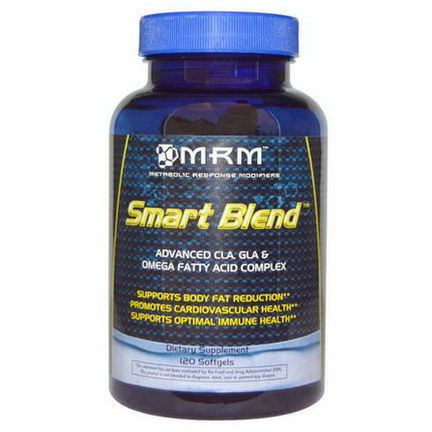 MRM, Smart Blend, Advanced CLA, GLA&Omega Fatty Acid Complex, 120 Softgels