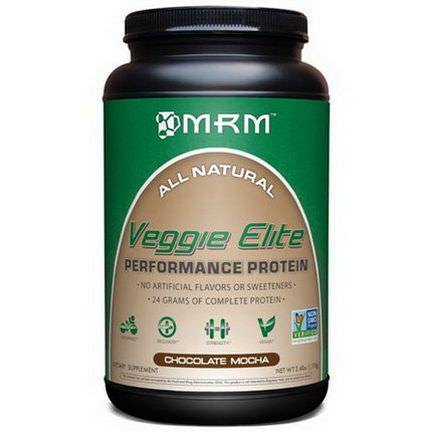 MRM, Veggie Elite, Performance Protein, Chocolate Mocha 1,110g