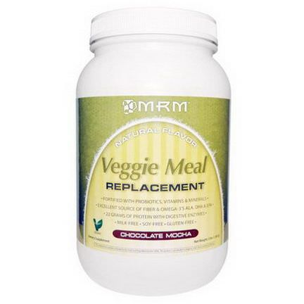 MRM, Veggie Meal Replacement, Chocolate Mocha 1,361g