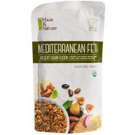 Made in Nature, Ancient Grain Fusion, Organic Mediterranean Feta 227g
