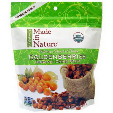 Made in Nature, Organic Goldenberries, Organic Dried Fruit 170g