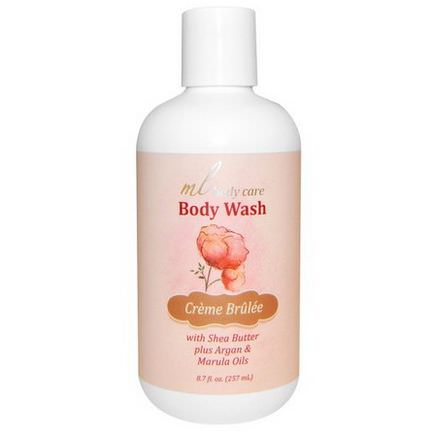 Madre Labs, Body Wash, Creme Brulee 257ml