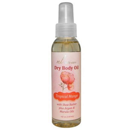 Madre Labs, Dry Body Oil, Tropical Mango 118ml