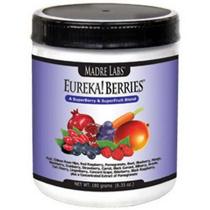 Madre Labs, Eureka! Berries, A SuperBerry&SuperFruit Blend 180g