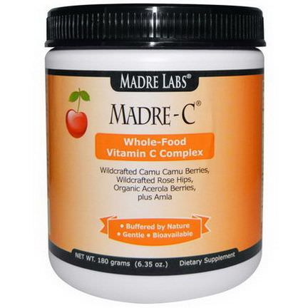 Madre Labs, Madre-C, Whole-Food Vitamin C Complex 180g