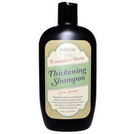 Madre Labs, Thickening Shampoo, Citrus Squeeze 414ml
