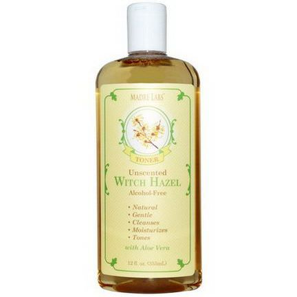 Madre Labs, Witch Hazel Toner, Unscented, Alcohol-Free 355ml