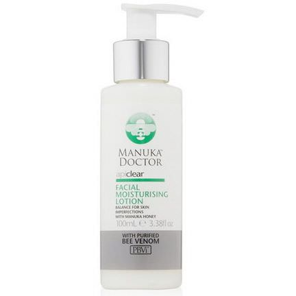Manuka Doctor, Apiclear, Facial Moisturizing Lotion 100ml