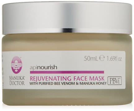 Manuka Doctor, Apinourish, Rejuvenating Face Mask 50ml