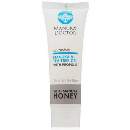 Manuka Doctor, Apirevive, Manuka&Tea Tree Gel 25ml