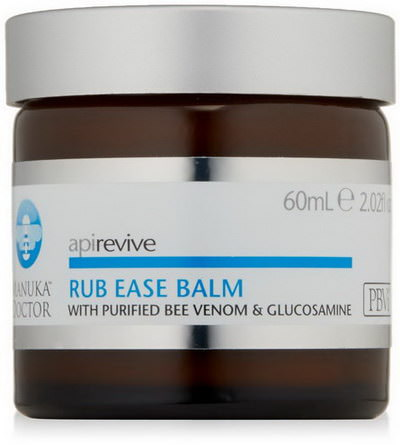 Manuka Doctor, Apirevive, Rub Ease Balm 60ml