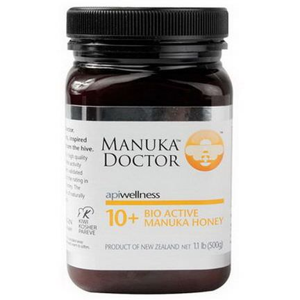 Manuka Doctor, Apiwellness, 10+ Bio Active Manuka Honey 500g