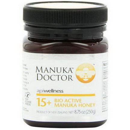 Manuka Doctor, Apiwellness, 15+ Bio Active Manuka Honey 250g