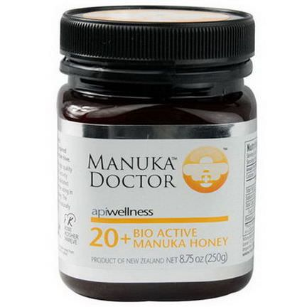 Manuka Doctor, Apiwellness, 20+ Bio Active Manuka Honey 250g