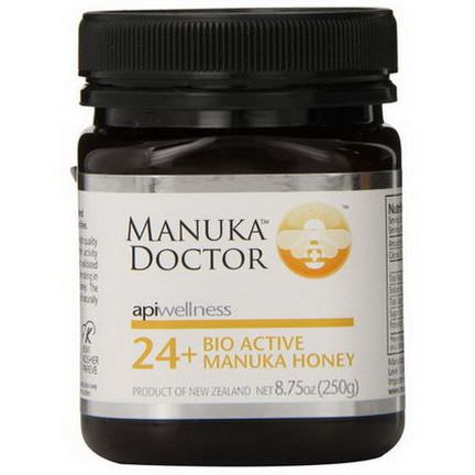 Manuka Doctor, Apiwellness, 24+ Bio Active Manuka Honey 250g