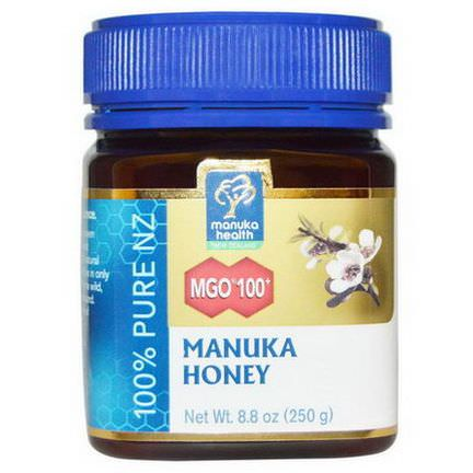 Manuka Health, Manuka Honey, MGO 100+ 250g