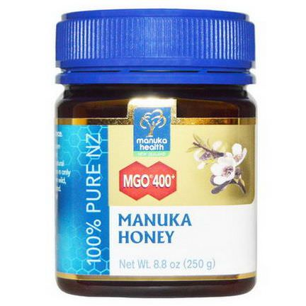 Manuka Health, Manuka Honey, MGO 400+ 250g