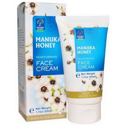 Manuka Health, Manuka Honey Moisturizing Face Cream 50ml