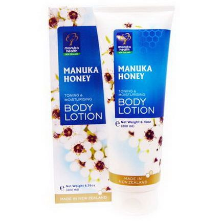 Manuka Health, Manuka Honey Toning&Moisturizing Body Lotion 200ml