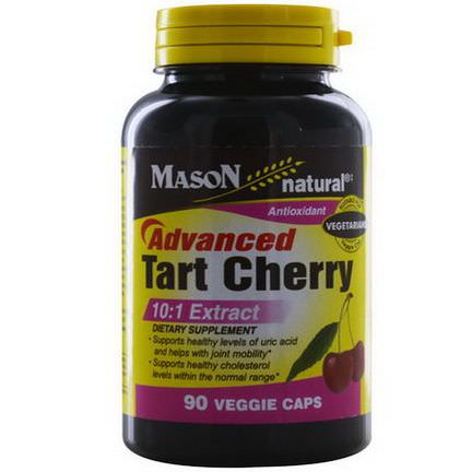 Mason Vitamins, Advanced Tart Cherry, 10:1 Extract, 90 Veggie Caps
