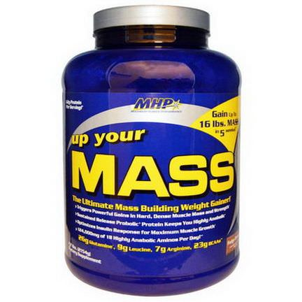Maximum Human Performance, LLC, Up Your Mass, Fudge Brownie 2154g