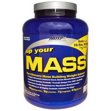 Maximum Human Performance, LLC, Up Your Mass, Weight Gainer, Vanilla 2,094.4g