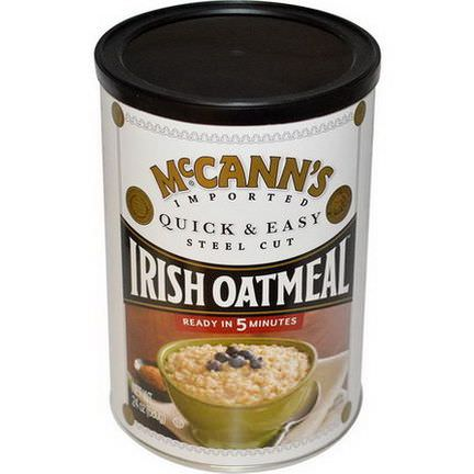 McCann's Irish Oatmeal, Quick&Easy Steel Cut Oats 680g