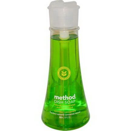 Method, Dish Soap, Cucumber 532ml