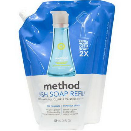 Method, Dish Soap Refill, Sea Minerals, 36 fl oz