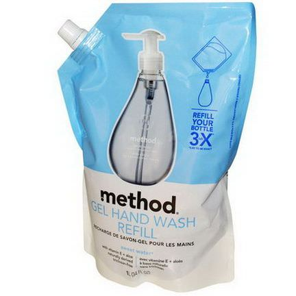 Method, Gel Hand Wash Refill, Sweet Water 1 L