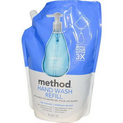 Method, Hand Wash Refill, Sea Minerals 1 l