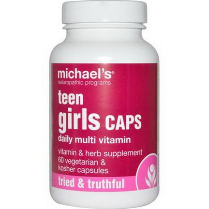 Michael's Naturopathic, Teen Girls Caps, 60 Veggie Capsules