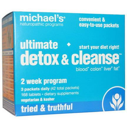 Michael's Naturopathic, Ultimate Detox&Cleanse, 42 Packets