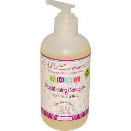 Mill Creek, Baby Conditioning Shampoo, Extra Clean 255ml