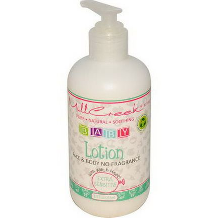 Mill Creek, Baby Lotion with Witch Hazel, Extra Sensitive 255ml