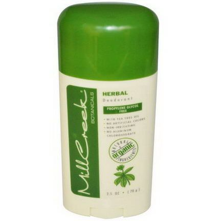 Mill Creek, Deodorant, Herbal 70g