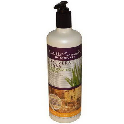 Mill Creek, Moisturizing Lotion, Aloe Vera&PABA 473ml
