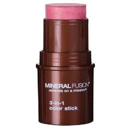 Mineral Fusion, 3-in-1 Color Stick, Rosette 5.1g