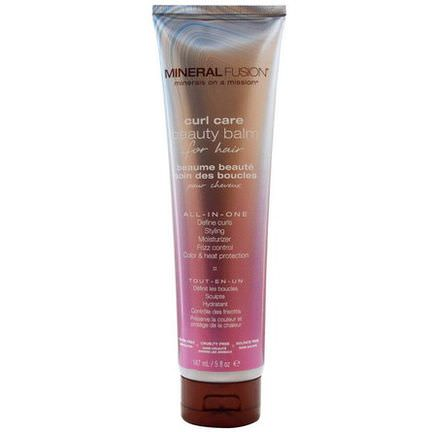 Mineral Fusion, Curl Care Beauty Balm for Hair 147ml