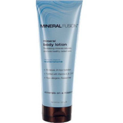 Mineral Fusion, Mineral Body Lotion, Waterstone 227g