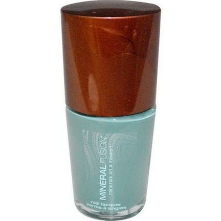 Mineral Fusion, Nail Lacquer, Cerulean Rock 10ml