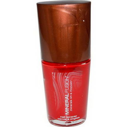 Mineral Fusion, Nail Polish, Crimson Clay 10ml