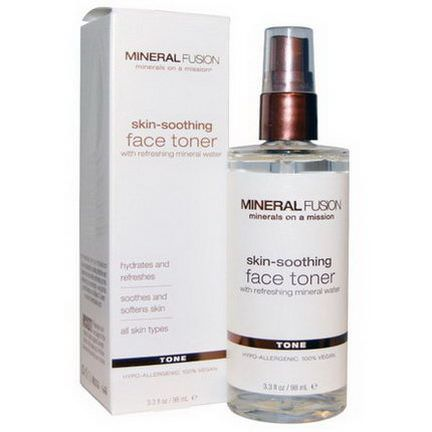 Mineral Fusion, Skin-Soothing Face Toner, Tone 98ml