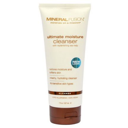 Mineral Fusion, Ultimate Moisture Cleanser, Cleanse 207ml